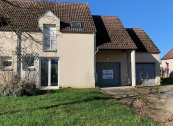 Maison T4 avec garage et jardin à Seignelay