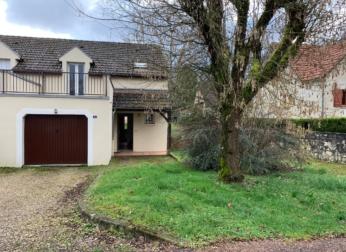 Maison T4 avec garage et jardin à L'Isle-sur-Serein